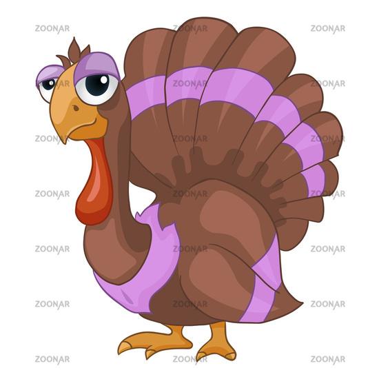 Cartoon Character Turkey