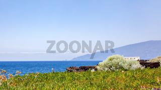 Ocean and coast of El Hierro Island