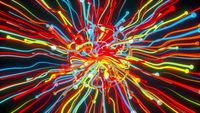 Burst particle lines