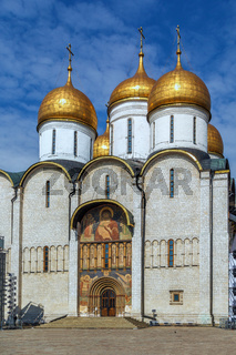 Dormition Cathedral, Moscow, Russia
