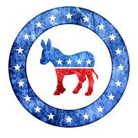 Democratic Donkey Icon
