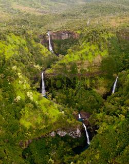 Kahili Falls in Kauai