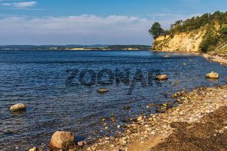 The coast on Ruegen Island near Alt Reddevitz, Mecklenburg-Western Pomerania, Germany
