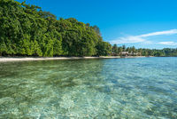 The Togian Island are a paradise in the Gulf of Tomini in Sulawesi
