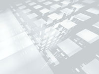 Abstract white and gray background - computer generated 3d illustration