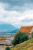 Rasnov Fortress in Rasnov, Romania