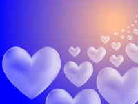 Dream Of Hearts Illustration