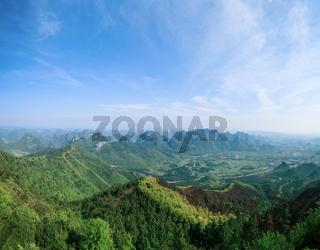 yaoshan hill park in guilin