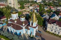 Ciuflea AKA Sf Teodor Tiron Monastery view