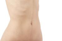 slim female torso
