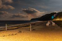 The beach and Beach Chairs in Goehren, Mecklenburg-Western Pomerania, Germany