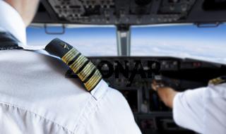 Shoulder Golden Pilot Badge