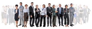 Successful happy business team