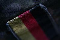 German flag, patch on uniform