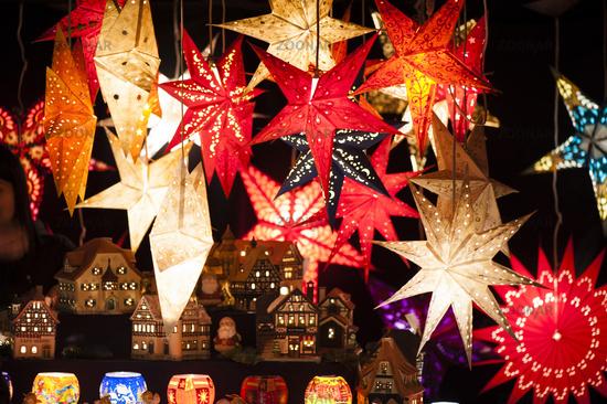Lighting Christmas star