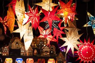 Beleuchtung Weihnachtsstern