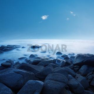 Calm ocean in the morning