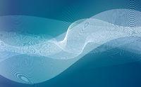 wellen linien bewegung abstrakt blau