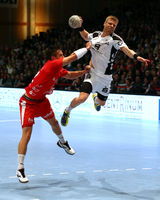 HBL 2012/13 (32. Spieltag): MT Melsungen vs. THW Kiel am 26.5. 2013 in der Rothenbach Halle