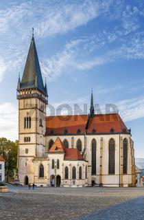 Basilica of St Giles, Bardejov, Slovakia
