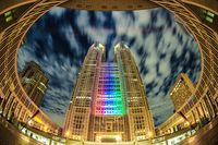 Tokyo Metropolitan Government (Olympic and Paralympic color light up)