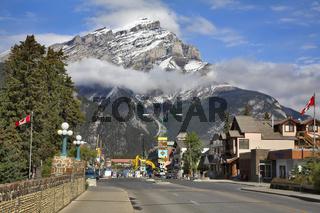 Popular mountain resort.