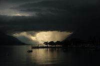 Thunderstorm over Interlaken.