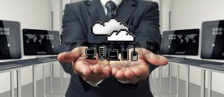 pixel 3d cloud network sign