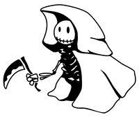 Happy Death Cartoon