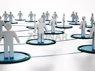 Human network concept