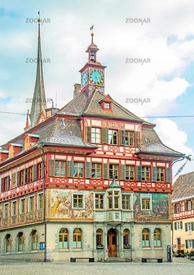 City Hall Stein am Rhein, Switzerland