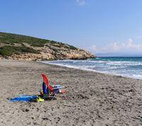 der Strand Coaquaddus on the island St. Antioco