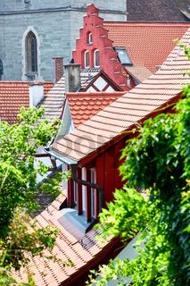 Häuserdächer in der Überlinger Altstadt