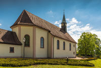 Pilgrimage chapel Maria Lindenberg near St. Peter in the Black Forest, Baden-Wuerttemberg, Germany