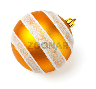 yellow decoration ball