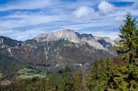 Mountain massif of Untersberg