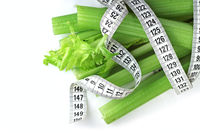 Celery and measure tape