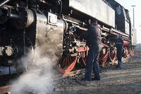 Maintaining A German Steam Engine