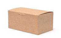 Brown kraft paper box