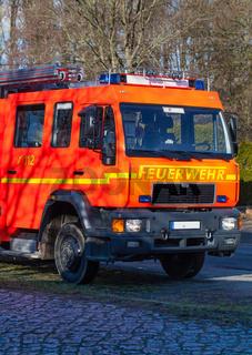 Feuerwehr Einsatzfahrzeug