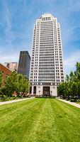 Mercer Tower Office building in Louisville - LOUISVILLE. USA - JUNE 14, 2019