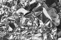 Metallic background in black-and-white