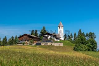 Kirche St. Helena in Deutschnofen, Suedtirol
