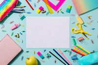 Back to school concept. Copy space