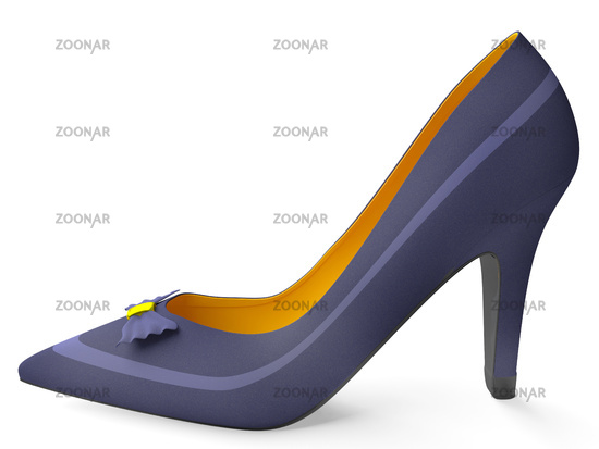 Classical female shoes