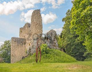 Burgruine Falkenstein, Oberes Donautal bei Beuron