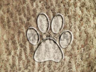 tree pattern animal