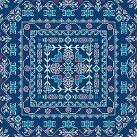 Georgian embroidery pattern 22