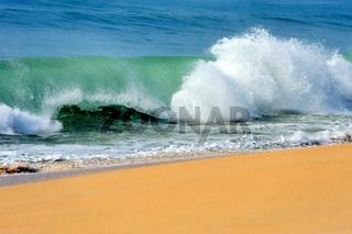 Wave of the ocean