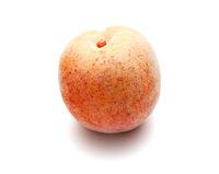Peach made of plastic